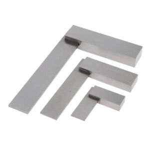 3 X Machinist Square Set Engineer 90 Right Angle Precision Ground Hardened