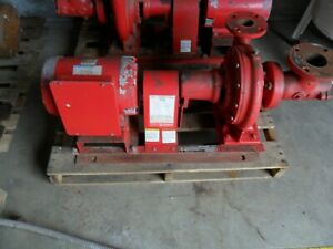 Bell And Gossett 1510 Centrifucal Pump And Motor