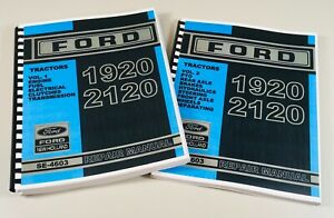 Ford New Holland 1920 2120 Tractor Service Repair Manual Se 4603