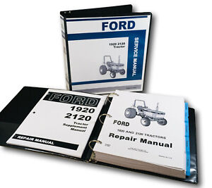 Ford New Holland 1920 2120 Tractor Service Repair Manual Shop Book Supplement