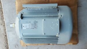 Electromech Technology Motor M 8040 2 3phs 400 Hz 200v 24amp 7hp 3840rpm