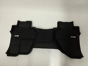 2nd Row Sure fit Floor Mats 2007 2014 Chevy Silverado Extended Cab