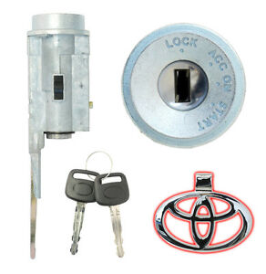 Toyota Avalon Camry Ignition Lock Cylinder With 2 New Keys