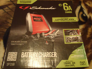 Schumacher Sp1298 6a 12v Automatic Battery Charger And Maintainer Low Price