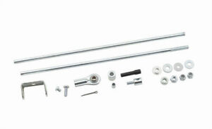 Mr Gasket Univ Dual Carb Linkage P N 3830g