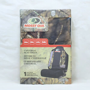 Brand New Mossy Oak Break Up Country Camo Universal Safe Seam Seat Cover
