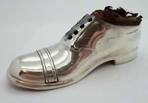 925 Sterling Silver S Blanckensee Son Ltd Shoe Pin Cushion