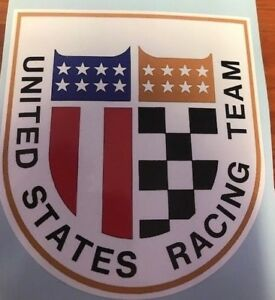 Nascar United States Racing Team Vintage Style Decal Sticker