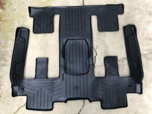 Weathertech 441114 Floor Liner 2nd 3rd Row Acadia Traverse Outlook Enclave
