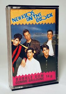 Vintage 1990 O-Pee-Chee NEW KIDS ON THE BLOCK Bubble Gum candy container #23 $12.00