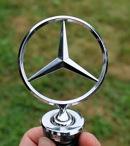 Mercedes Benz Chrome Hood Ornament Emblem Oem
