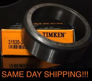 New Timken 31520 Tapered Roller Bearing Cup Same Day Shipping