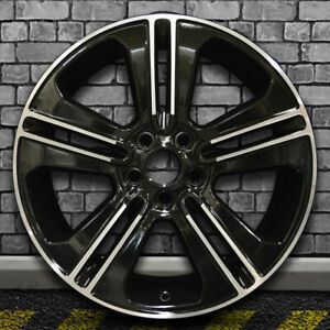 5 Split Spoke Black Machined Oem Factory Wheel For 2013 14 Ford Mustang 19x8 5
