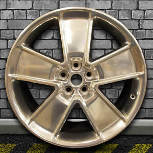 Polish Full Oem Factory Front Wheel For 2012 2015 Chevy Camaro 21x8 5