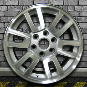 Machine Texture Sparkle Silver Oem Wheel For 2007 2014 Ford Expedition 18x8 5
