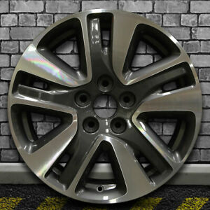Machined Carbon Gray Oem Factory Wheel For 2014 2015 Honda Odyssey 18x7