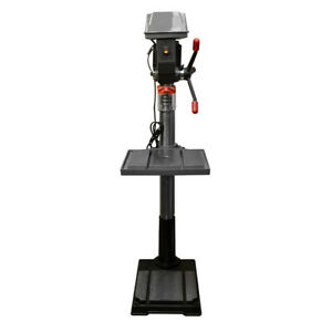 12 Speed Standing Drill Press Floor 20 Swing 180 2940 Rpm 4 3 4 Spindle 20mm