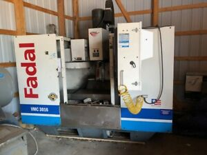 Vmc Fadal 3016l Cnc Vertical Machining Center