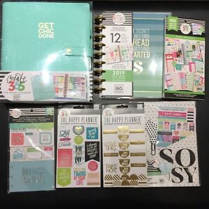 The Happy Planner Budget Edition Deluxe Cover Sticky Notes Classic Vertical Lot