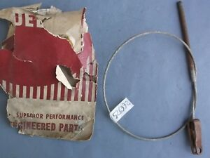 Nos 1950 Studebaker Champion Emergency Parking Brake Center Cable Part 526332
