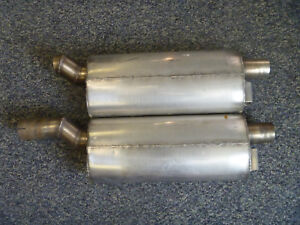 Aston Martin Db5 Db6 Stainless Steel Center Mufflers Used Exhaust