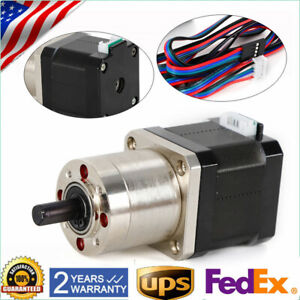 High Torque Nema 17 Stepper Motor With 1 27 Planetary Gearbox Cnc Robot