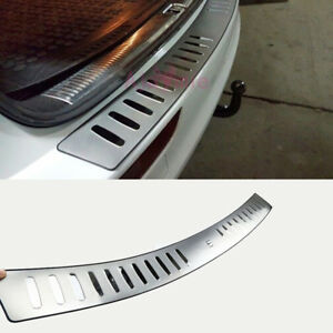 For Audi Q5 2009 2016 Rear Bumper Door Sill Chrome Car Styling Accessories