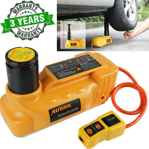 Autool 5ton 12v Car Hydraulic Electric Jacks Tool For Automotive Floor Lifting