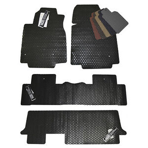 Honda Odyssey All Weather Rubber Floor Mats 2005 2019 Custom Fit Mats