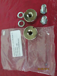 1954 87 Chevy Gmc Stepside Truck Tailgate Trunion Hinge Bolts Hardware