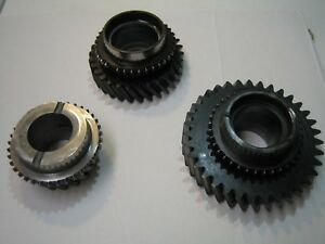 Chevy Np 833 Main Shaft Gear Set Np440 Transmission My6 C10 Overdrive My6