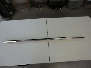 Nos 1965 Ford Galaxie Hardtop And Conv Door Top Stainless With Ws 66 Convertible