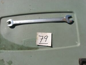 Lectrolite T 1618 9 16 1 2 Thin Tappet Open End Wrench