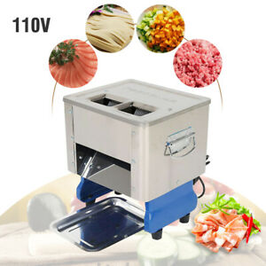 500w Desktop Electric Meat Slicing Shredding Cutting Machine Meat Cutter Slicers