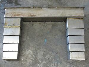 Wasino Vmc 22 Cnc Vertical Mill Way Covers Cover