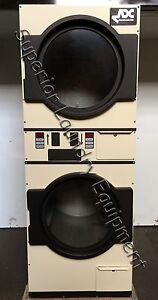 American Dryer Adg 236 30lb Stack Dryer 120v Gas Manual Start Reconditioned