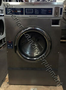 Dexter Wcn25ab T400 25lb Washer extractor Coin 220v 3ph Reconditioned