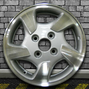 Machine Texture Medium Silver Oem Factory Wheel For 1998 00 Honda Accord 15x6