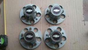 4 Gm Chevrolet Chevy Pickup Truck Center Hubcap Hubcaps 15 Inch
