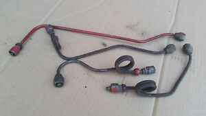 Ih Farmall International Md 400 450 Injection Lines Gas Diesel 1