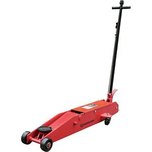 Strongway 5 Ton Hydraulic Long Frame Service Floor Jack