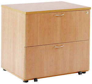 Tc Tkdh800sf Beech 2 drawer Wooden Side filing Cabinet Lateral Filing Cabinet