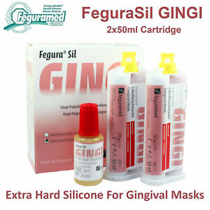 Dental Lab Silicone Gingival Mask Extra Hard Implant Prosthetic Model