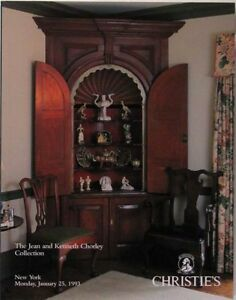 Antique English Pottery And American Furniture Chorley Collection Catalog