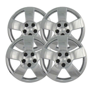 Silver 16 Bolt On Wheel Covers For 2006 2010 Chevy Hhr