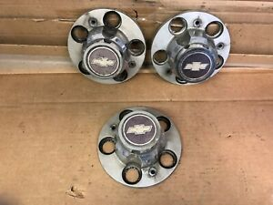 87 Chevy Truck Rally Wheel 3 Center Caps