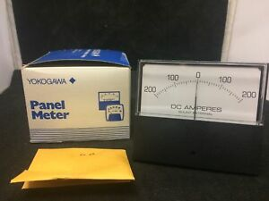 New Yokogawa Panel Meter 50 0 50 Dc Mv P n 251325ecec8jbk Model 612232 1re