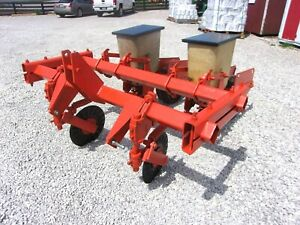 Ac 2 Row No Till Planter 3 Point We Can Ship Fast Cheap