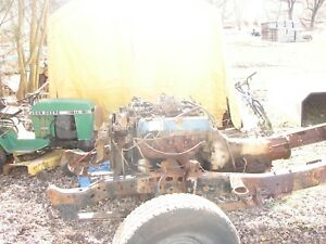 77 F250 Ford 460 Motor Engine And 4x4 C6 Transmision
