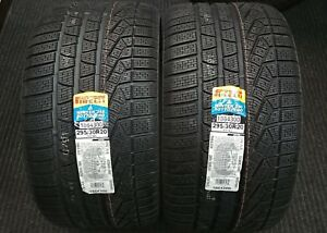 2 New Pirelli Winter 240 Sottozero Serie Ii 295 30 20 97v Snow Tires